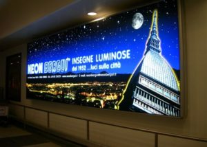 insegne luminose cassonetti luminosi